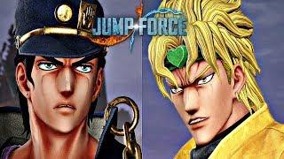 Jump Force - Dio vs Jotaro Gameplay (1080p 60fps) JoJo's Bizarre Adventure