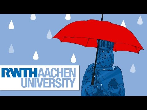 Annual Precipitation in Aachen