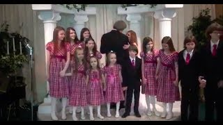 David & Louise Turpin FULL Vow Renewal with all 13 Children - Vegas 2013.