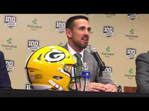 Packers - Matt LaFleur introduced as head coach of the Green Bay Packers
