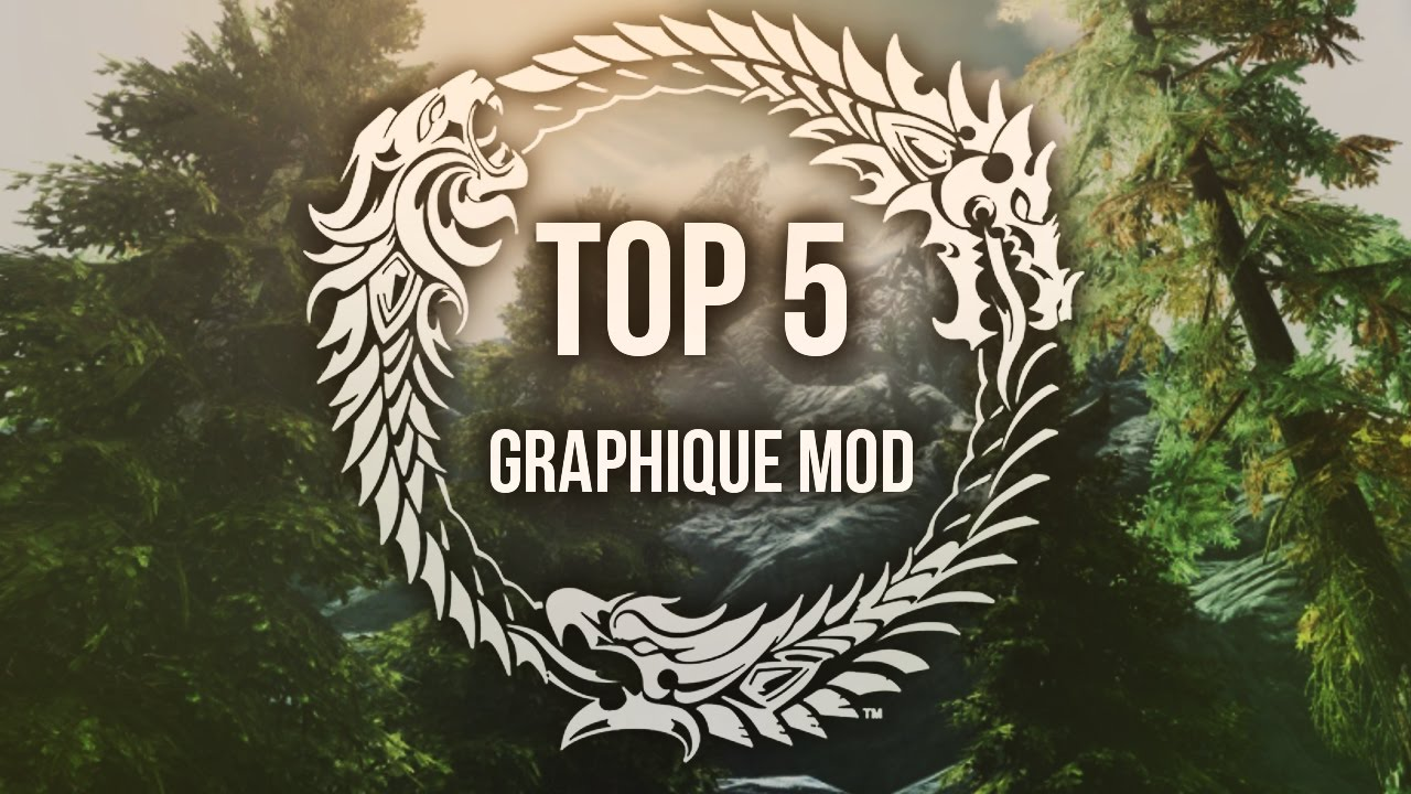 Top 5 mods graphiques skyrim pc xbox one youtube