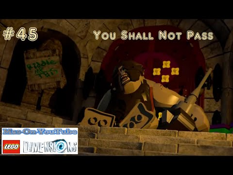 LEGO® DIMENSIONS - PS4 (45) You Shall Not Pass (part 2) - YouTube