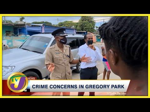 Crime Concerns in Gregory Park   TVJ News - August 15 2021