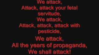 System of a Down - Attack Lyrics