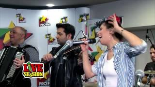 Damian & Brothers ft Cristina Balan - Ma dusei sa trec la Olt | ProFM LIVE Session