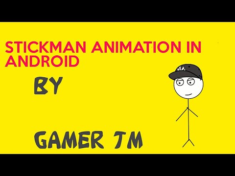 How To Make Stickman Animation In Android Youtube