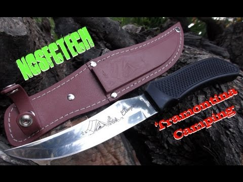 Tramontina Camping Knife Review (HD) - By Nosfctech