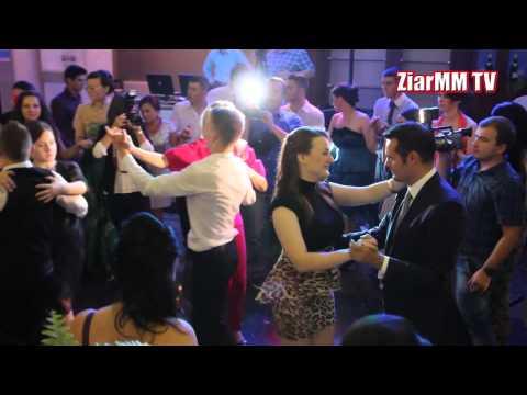 Elena Udrea in Baia Mare, dansand cu primarul Catalin Chereches