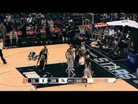 Into the Action: Tulsa Shock vs. San Antonio Silver Stars