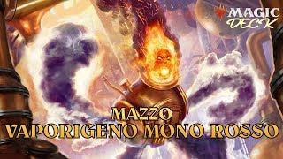 MtG ► MAGIC DECK – Mazzo Modern Vaporigeno Mono Rosso [Gen 2019]