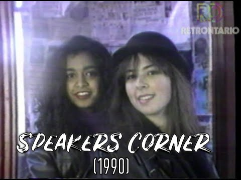 Citytv Speakers Corner October 1990
