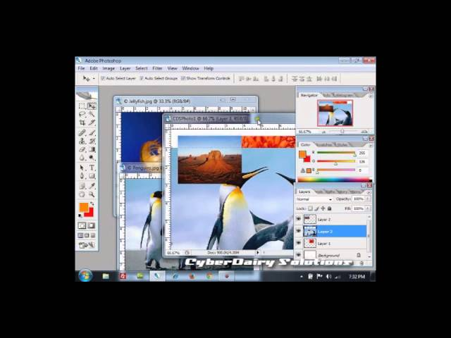 Adobe Photoshop Tutorial  : Using Photoshop Tools Part 1 [Hindi]