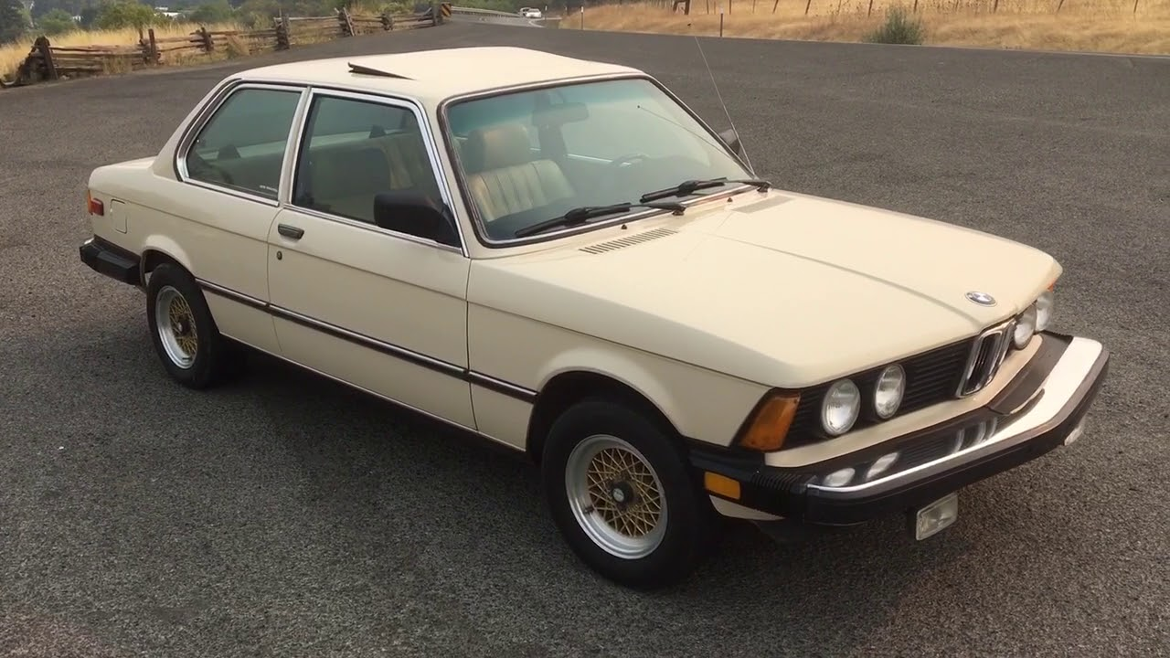 1982 BMW 320i (e21) - Safari Beige - 127k miles - YouTube