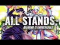 ALL STANDS IN DIAMOND IS UNBREAKABLE