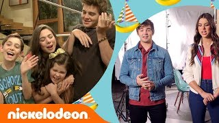 Kira Kosarin & Jack Griffo Look Back on The Thundermans 🤗 | Nick