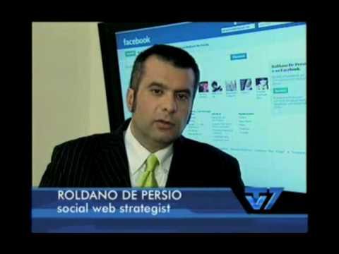 Social Network su TV7 del 15-01-2010 (Catepol, Roldano, Melica)