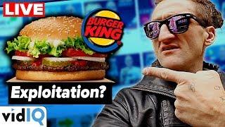 Burger King Exploits Casey Neistat... Casey Neistat Exploits Burger King? + Channel Audits