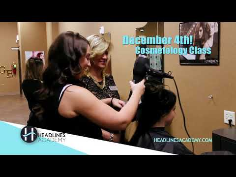 Cosmetology Course - December 4th 2017 Class Start