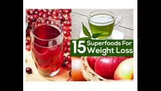 15 Super foods for ultimate weight loss