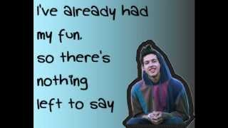 T. Mills - Me First LYRICS ON SCREEN! c: