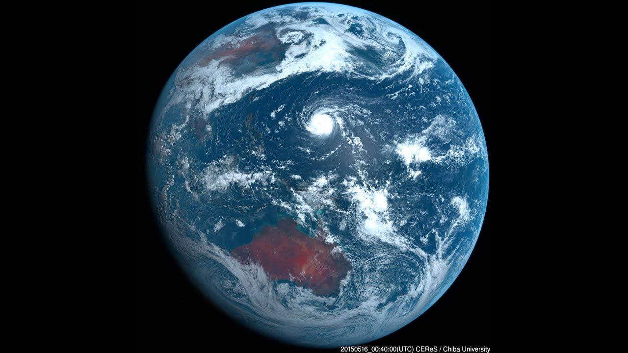 気象衛星ひまわり8号 2015年05月...