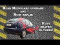 How to Upgrade Mudguard and Rust Repair (ETCG style) - Ford Focus 2001
