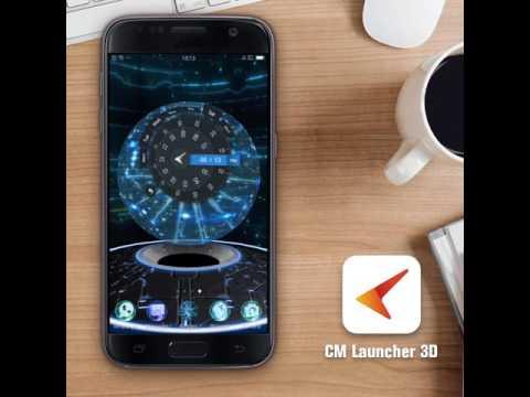 Future Tech 3D Tech Lightning Ball launcher Theme For 2018 year!