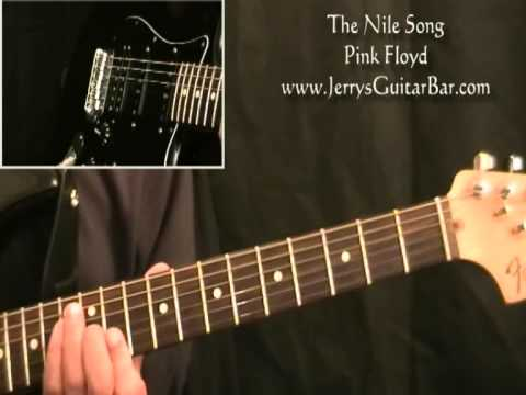 How To Play Pink Floyd The Nile Song (full lesson)