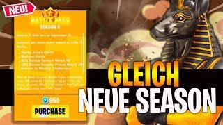 🔴 GLEICH NEUE SEASON #HYPE #HYPE #HYPE | FORTNITE BATTLE ROYAL [DEUTSCH]