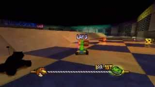 Toy Story Racer PS1 Gameplay [HD]