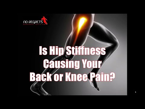 Why Tight Hips Are Often To Blame For Chronic Knee & Back Pain & How To Correct It