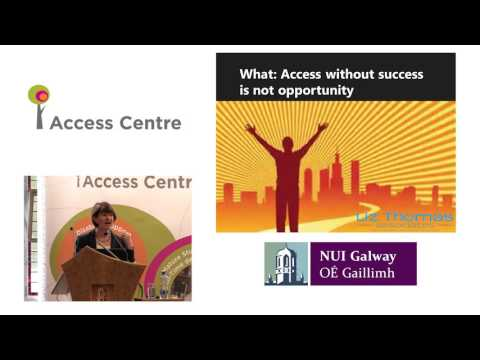 NUI Galway Access Centre Launch - Liz Thomas