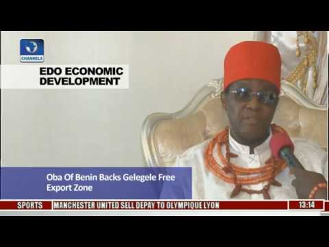 Edo Economic Development: Oba Of Benin Backs Gelegele Free Export Zone