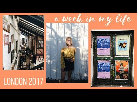 VLOG: A WEEK IN MY LIFE | LONDON & VINTAGE SHOPPING // ENGLA