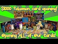 Opening Almost $1000 Worth Of Pokemon Cards! All Of Our Loot From Our Pokemon Card Hunt!