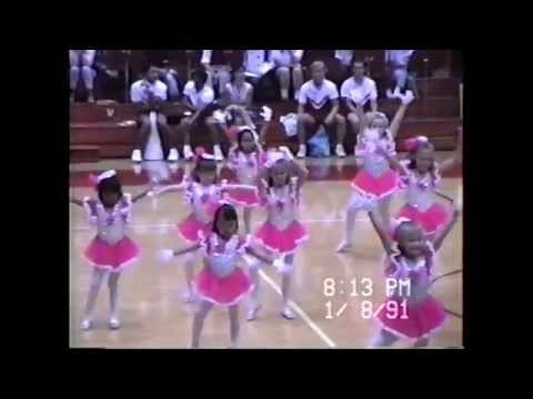 Laie Bay Dancers, Brigham Young University Hawaii Basketball Halftime Show, January 8, 1991