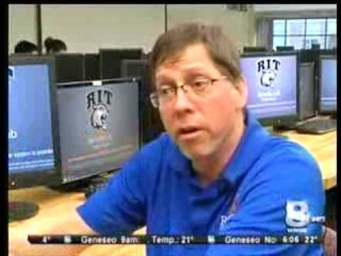 RIT on TV: Ethical Hackers on News 8