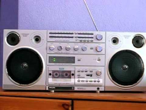 Philips d8614 sound machine ghetto blaster youtube - Phillips ghetto blaster ...