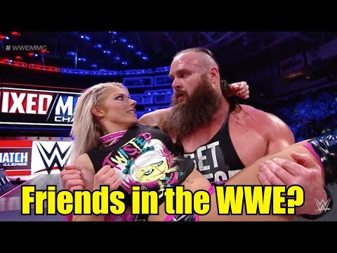 10 Wrestlers You Didn't Know Are Close Friends in the WWE! (2018)