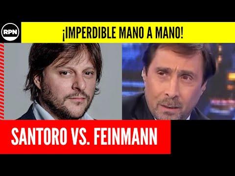 Leandro Santoro lo paseó a Eduardo Feinmann en un mano a mano