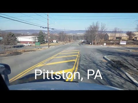 Made it to Pittston, PA