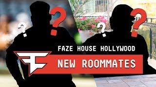 NEW ROOMMATES at FaZe House Hollywood