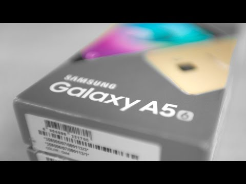 Samsung Galaxy A5 2016 - Unboxing & Hands On!