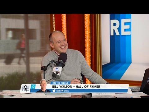 Hall of Famer Bill Walton Talks Lonzo Ball, Jim Gray & More - 4/3/17