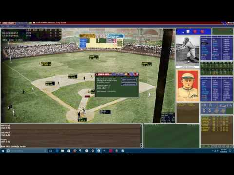 SOM Replay:  1919 World Series Game 9.  CIN @ CHW