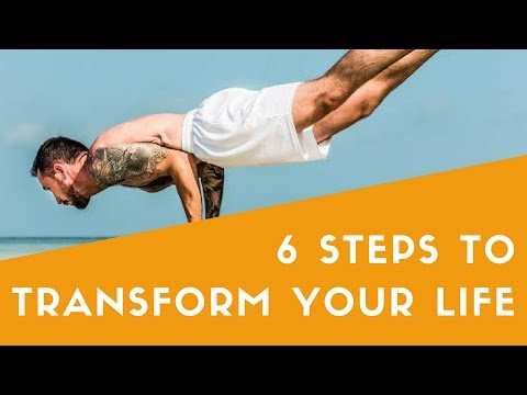 007: Six Steps to Transform Your Life with Scott Riley - The Wellness Cafe Podcast