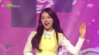 LOOΠΔ 1/3 (이달의 소녀 1/3)   You and Me Together @인기가요 Inkigayo 20170312