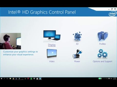 How to make a stretched resolution on Intel HD graphics
