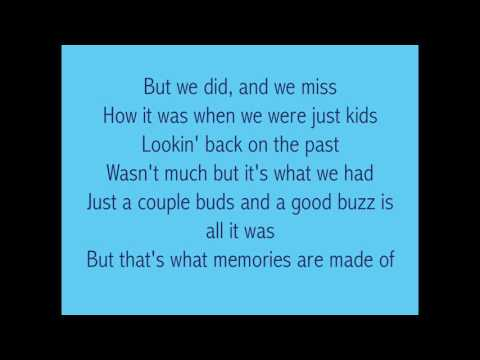 Memories are Made of- Luke Combs Lyrics
