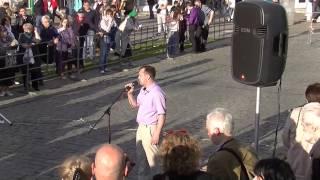 Выступление Дмитрия Трунина на митинге по капремонту в Москве